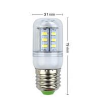 LED-Lampe E27 Alcoy 1W (10W) kaltweiss Abmessungen