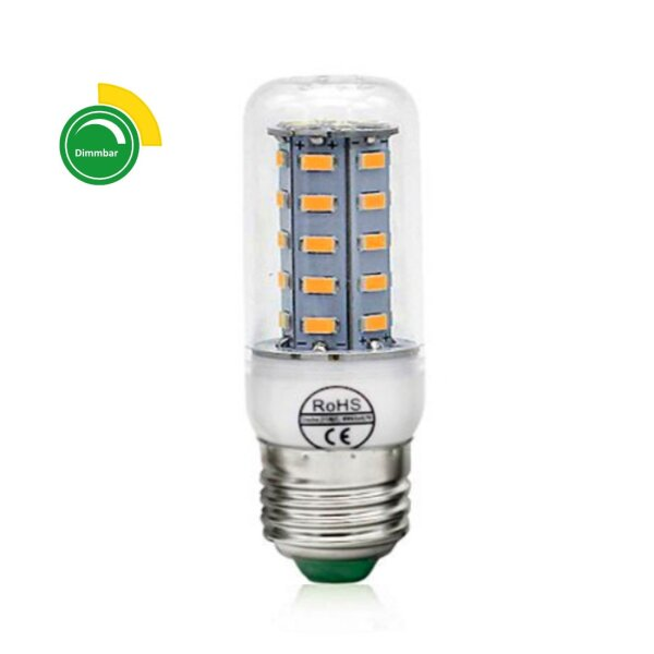 LED-Lampe E27 Almería 3W (15W) warmweiss