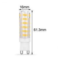 LED Lampen von LumenStar G9 Scandicci Abmessungen