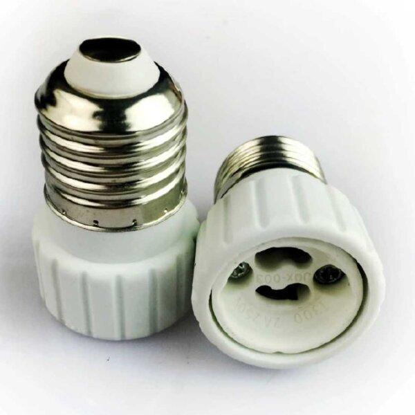 Adapter E27 zu GU10 LED-Lampen