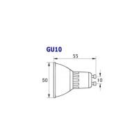 LED Lampen von LumenStar GU10 Sassari Abmessungen