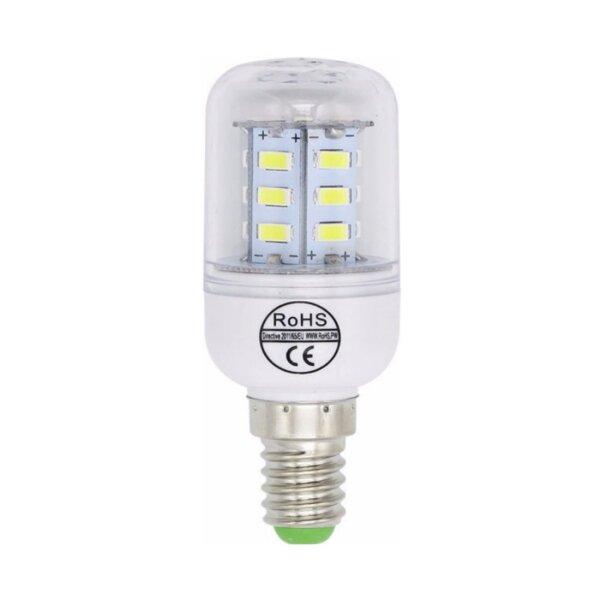 LED-Lampe E14 Badajoz 1W (10W) kaltweiss