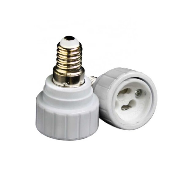 Adapter E14 zu GU10 LED-Lampen 2