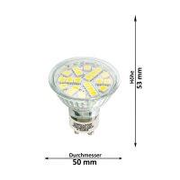 LED Lampen von LumenStar GU10 LED Lampen Cesena Abmessungen