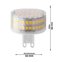 LED Lampen von LumenStar G9 Cartagena Dimmbar NW Abmessungen