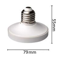 Adapter E27 zu GX53 LED-Lampen mit Abmessungen