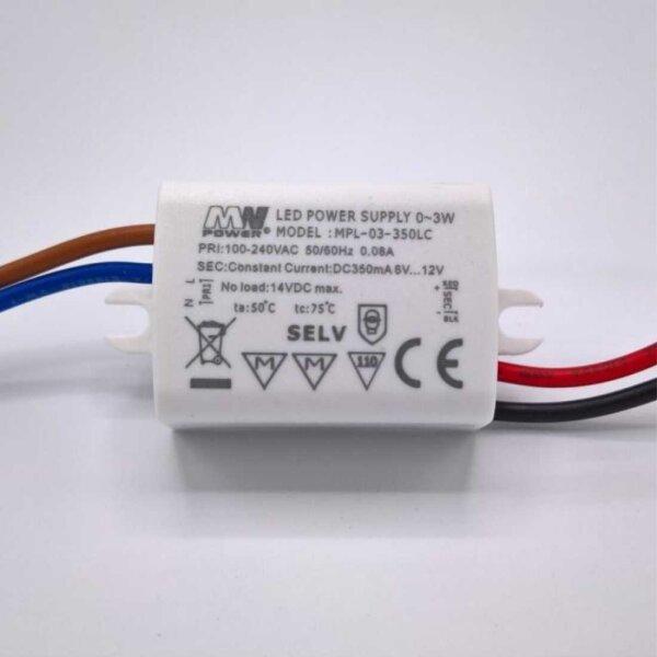 LED Trafo 3W 6 - 12V