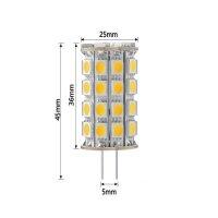 LED Lampen von LumenStar G4 LED Lampen Rubí mit Abmessungen WW
