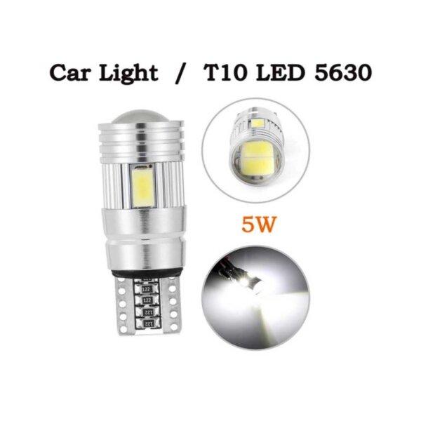 LED T10 Leuchtmittel im Vergleich blau