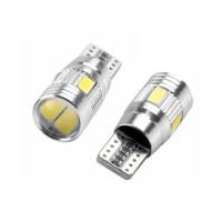 LED T10 Leuchtmittel von unten und oben blau