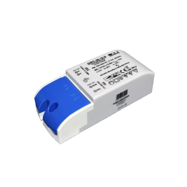 25W LED Triac Dimmable Constant Voltage LED Trafo